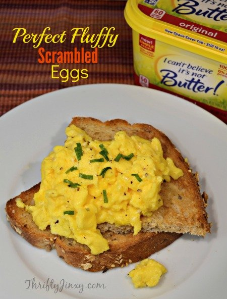 Perfect Fluffy Scrambled Eggs Recipe