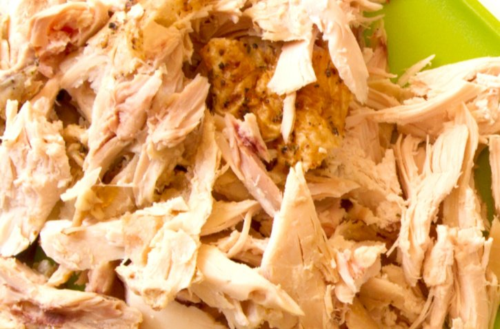 Pre Cooked Chicken Shredded