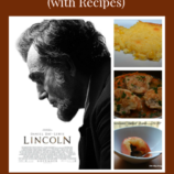 President's Day Menu Featuring Abraham Lincoln