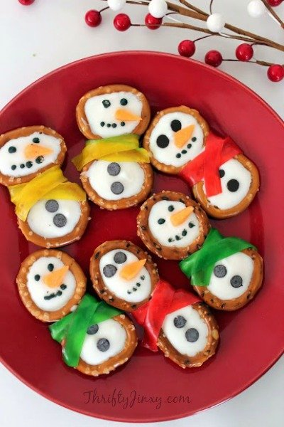Snowman Pretzels Recipe – Winter Fun in the Kitchen!