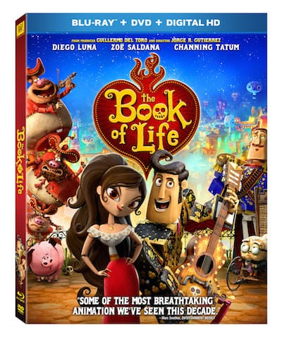 The Book of Life DVD BluRay