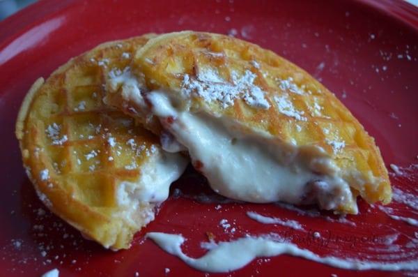 Valentine Waffle Recipe