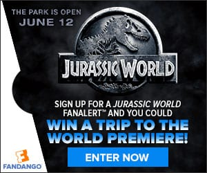 Enter to Win a Trip to the Jurassic World Premiere or a Smart TV and XBOX One