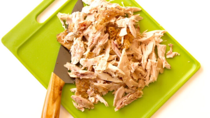 pre-cooked shredded chicken from crockpot