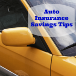 Auto Insurance Savings Tips