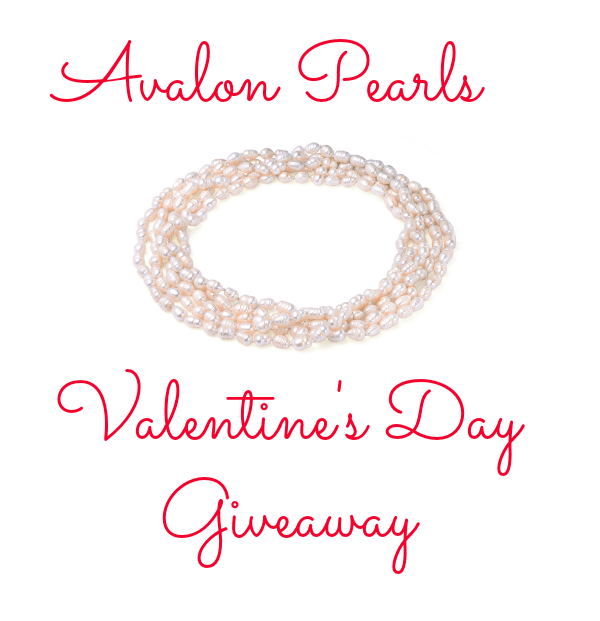 Avalon Pearls Valentine's Day Giveaway