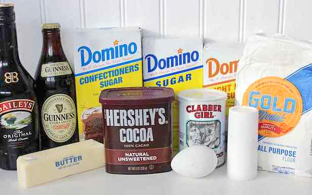 Chocolate Guinness Donuts Ingredients