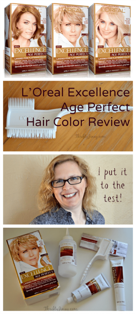 L'Oreal Excellence Age Perfect Hair Color Review - I Put It to the Test!