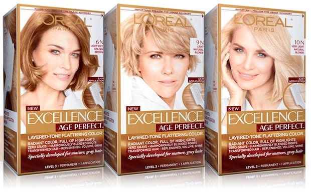 L Oreal Excellence Age Perfect Hair Color Review I Put