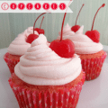 Maraschino Cherry Cupcakes Recipe