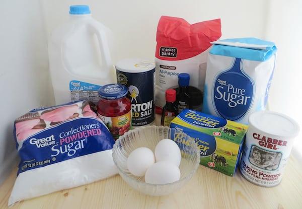 Maraschino Cherry Cupcakes Recipe Ingredients