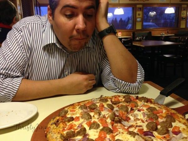 Pizza Hut Old Fashioned Meatbrawl