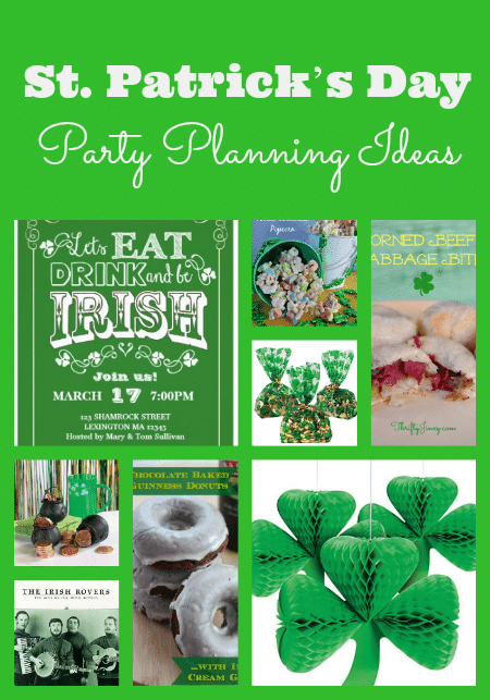 St. Patricks Day Party Planning Ideas