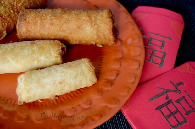 Tai Pei Egg Rolls Chinese New Year