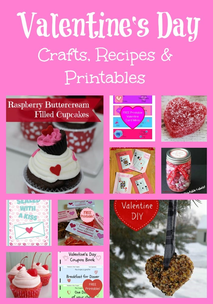 Valentines Day Crafts and Recipes