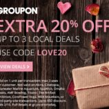 EXTRA 20% Off Local Groupon Deals