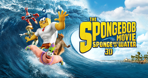 SpongeBob Movie: Sponge Out of Water – Kid Review + More Fun