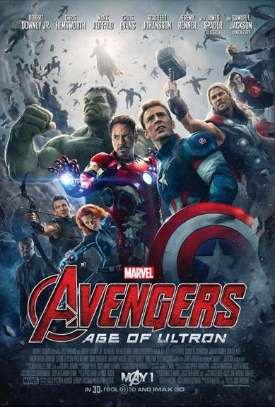 Avengers: Age of Ultron Character Posters and New Trailer