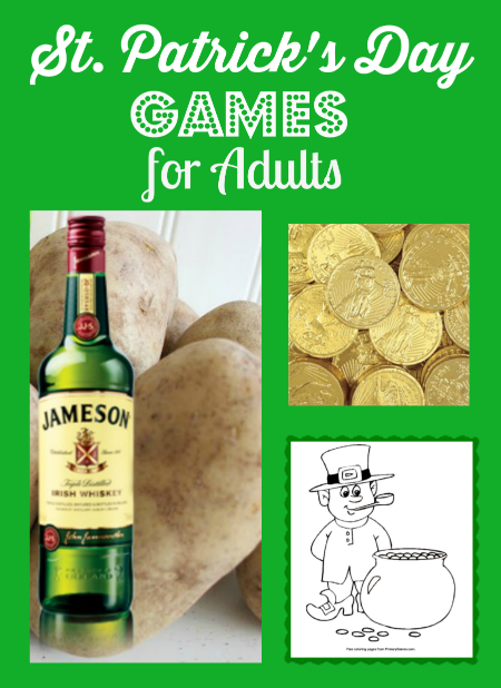 Adults' St Patricks Day Games