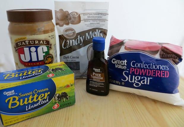 Copycat Reese's Peanut Butter Eggs Recipe Ingredients