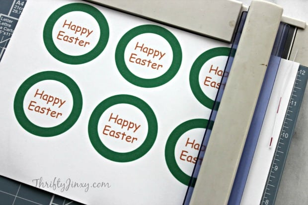 Easter Carrot Treat Bags Cutting