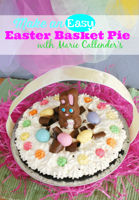 Easy Easter Basket Pie
