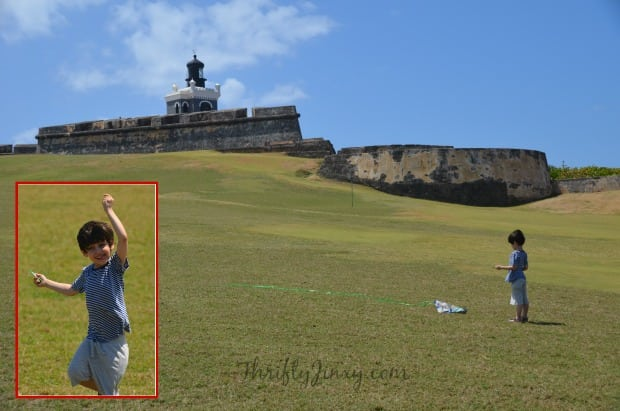 El Morro Kite Flying
