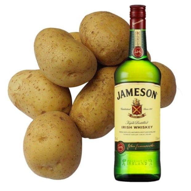 Hot Potato Drinking Game for St Patricks Day