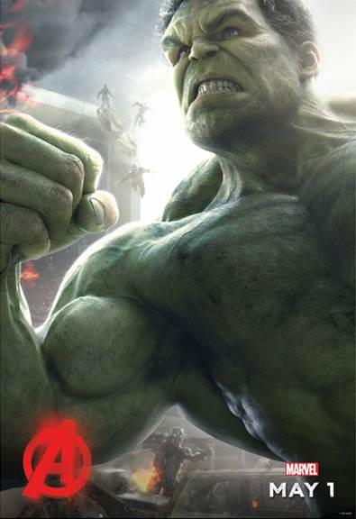 Hulk Ultron Poster