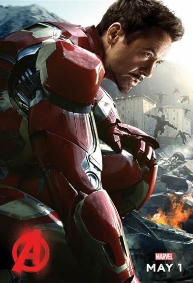 Iron Man Ultron Poster