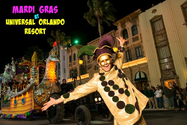 Mardi Gras Universal Orlando Resort: Music, Food, Floats and Fun!