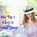My Top 5 Ways to Relieve Stress + RESCUE Sweepstakes, Coupon and Twitter Party