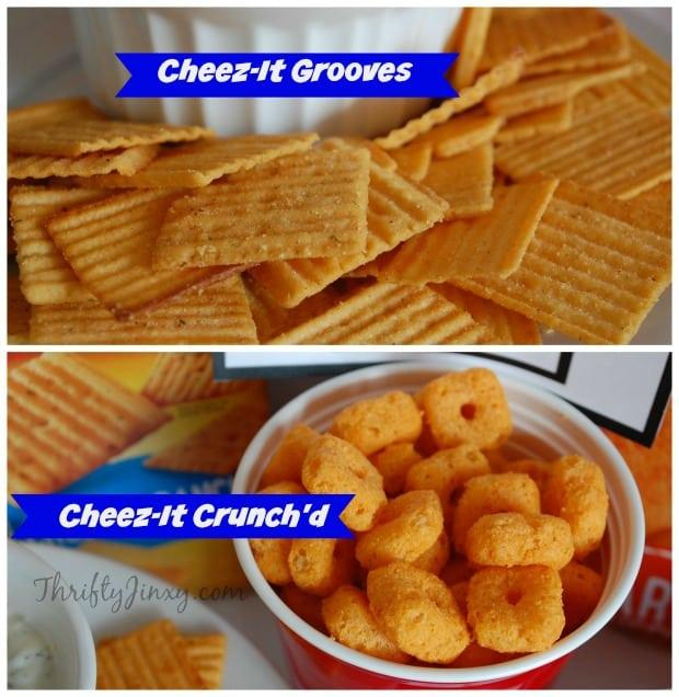 New Cheez-It Snacks