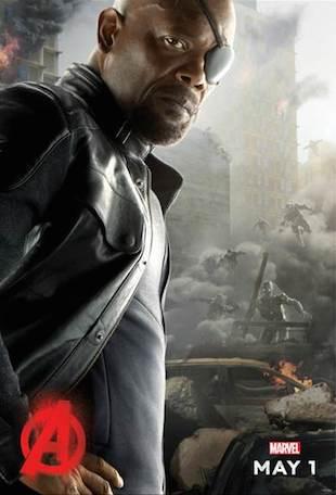 Nick Fury Ultron Poster