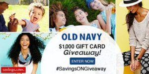 Old Navy $1,000 Gift Card Giveaway + 30% Off Site-Wide!
