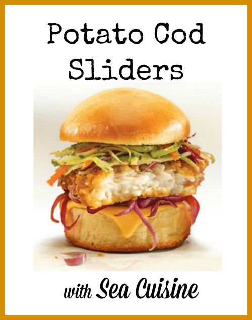 Sea Cuisine's Potato Cod Sliders Recipe + Printable Coupon