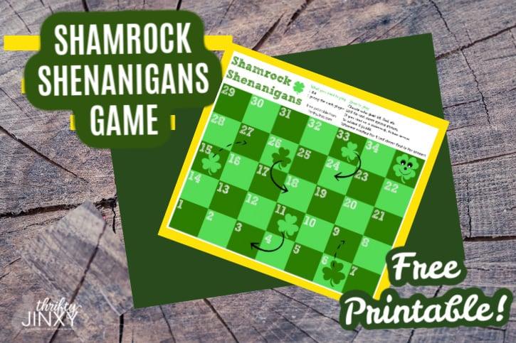 Printable St. Patrick's Day Game