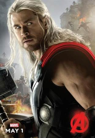 Thor Ultron Poster
