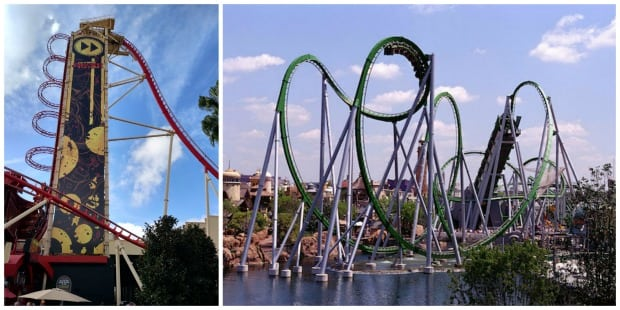 Universal Roller Coasters