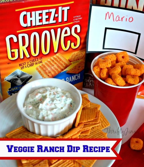 Veggie Ranch Dip Recipe