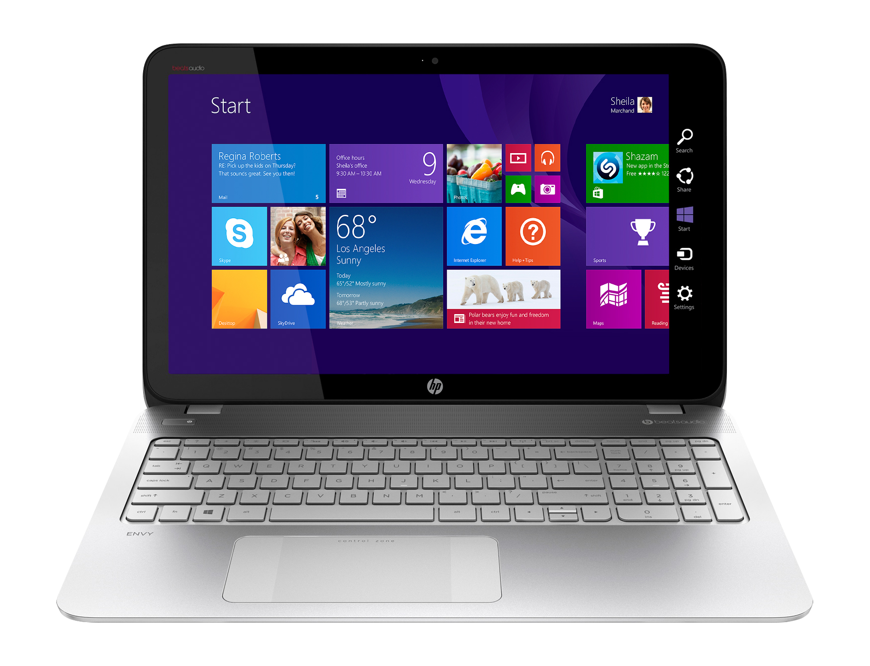Best Buy Exclusive: HP ENVY TouchSmart 15.6″ Laptop AMD FX Series