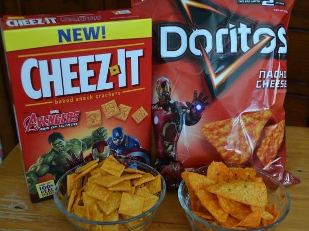 Avengers Cheez-It Doritos