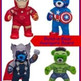 Build-a-Bear Avengers Bears and Accessories – SO CUTE!!