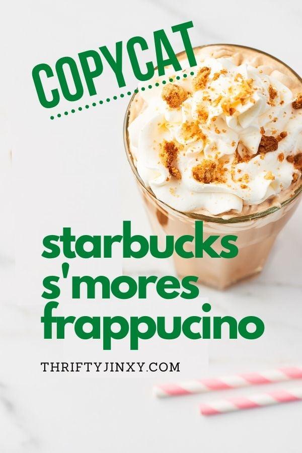 Copycat Starbucks Smore's Frappuccino