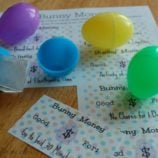 Easter Egg Bunny Money Printable – Something Fun to Fill Your Eggs!