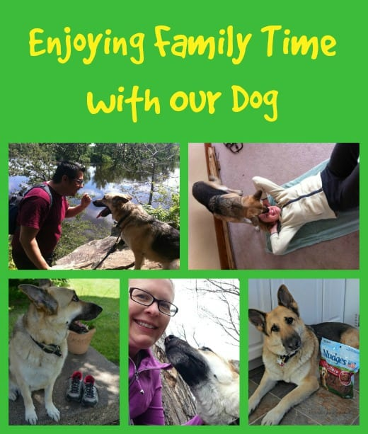 Enjoying Family Time with Our Dog