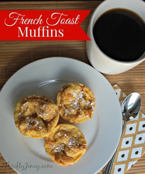 French Toast Muffin Recipe