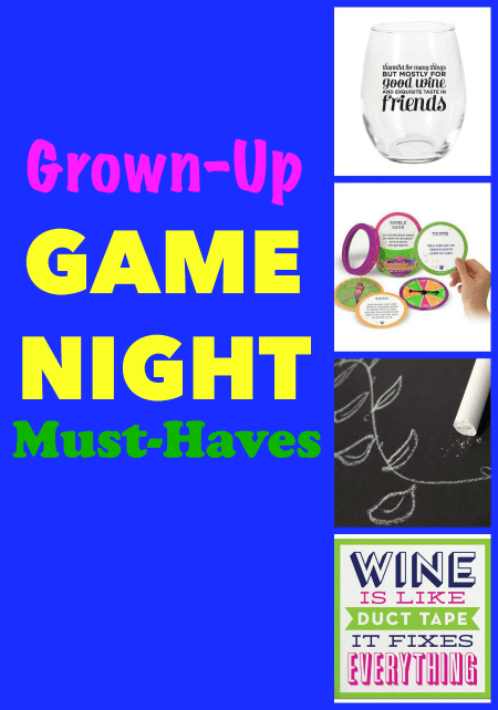 Grown-Up Game Night Must-Haves