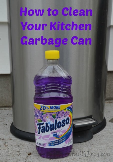 How to Clean Your Kitchen Garbage Can