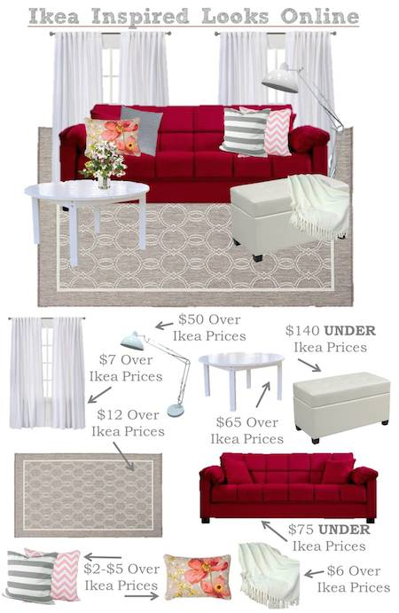 Ikea Inspired Living Room – Find Everything Online!